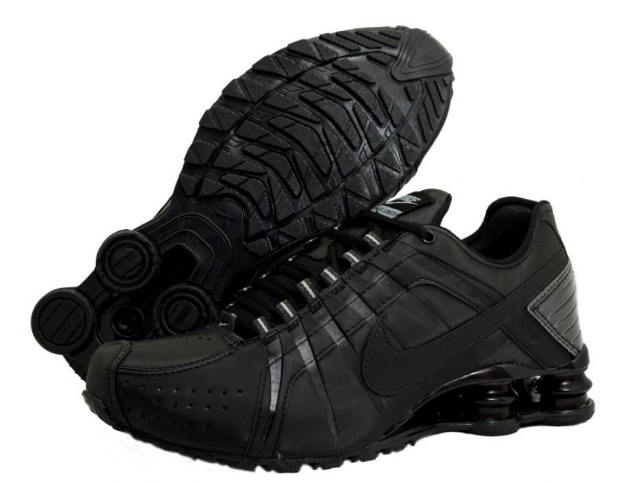 best sneakers fb842 63a68 Tênis Nike Shox Junior Preto (Masculino)