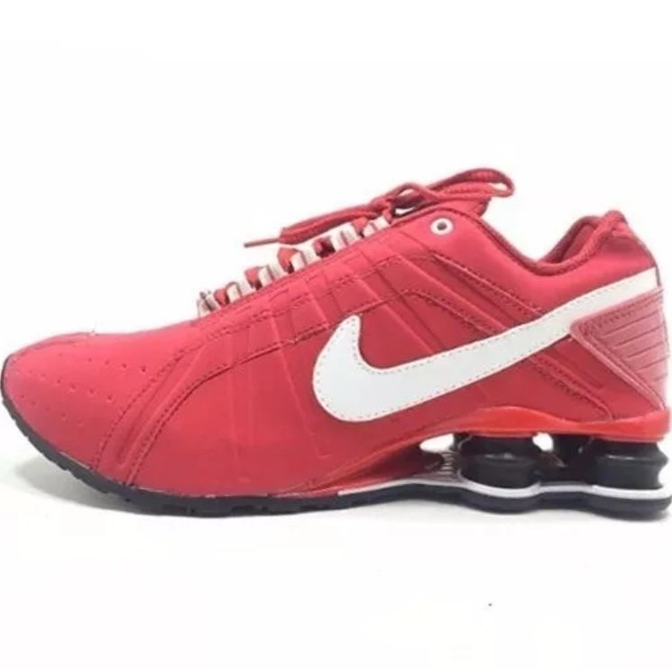 finest selection c138f ec20a Tênis Nike Shox Junior Vermelho (Masculino)