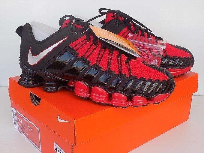 efcf2469f Tênis Nike Total Shox Preto C/Vermelho (Masculino)