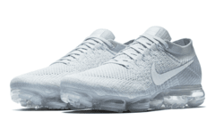 Tênis Nike Air VaporMax Flyknit All White (Masculino) na internet
