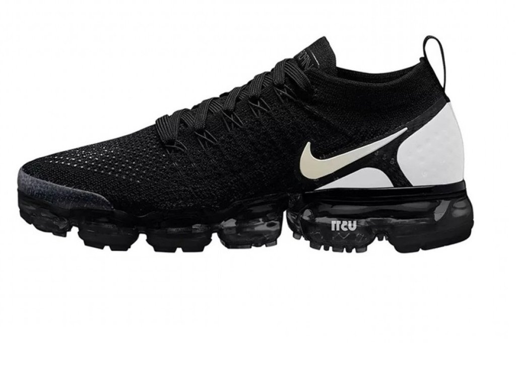 c620a5536aa Tênis Nike Air VaporMax Flyknit 2.0 Black White (Masculino)
