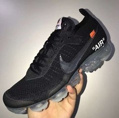 "Tênis Nike Air VaporMax ""AIR"" Flyknit Full Black (Masculino)"
