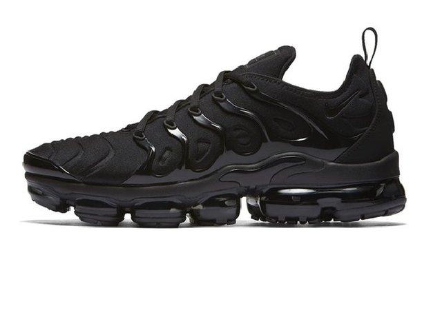 385d08de7caf Tênis Nike Air VaporMax Flyknit Plus Triple Black (Masculino)