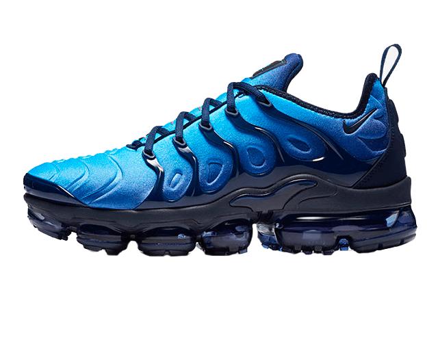 new styles d4223 07b49 Tênis Nike Air VaporMax Flyknit Plus Obsidian Blue (Masculino)