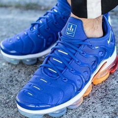 Tênis Nike Air VaporMax Flyknit Plus Game Royal (Masculino) - loja online