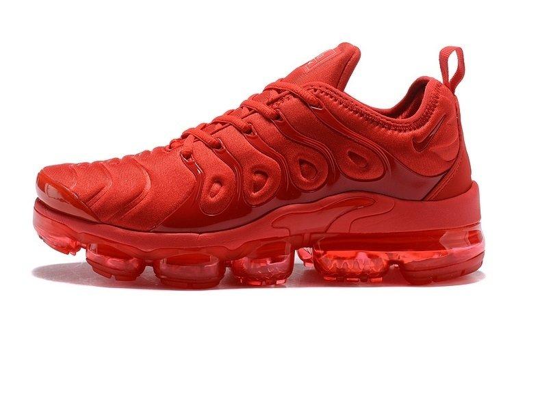 8229896302d Tênis Nike Air VaporMax Flyknit Plus Triple Red (Masculino)