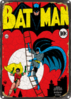 CHAPA VINTAGE: BATMAN - MARVEL
