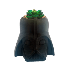 OBJETO 3D - MACETA DARTH VADER - STAR WARS