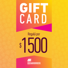 GIFT CARD: $1500
