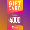 GIFT CARD: $4000