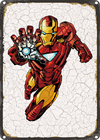 CHAPA VINTAGE: IRON MAN - MARVEL