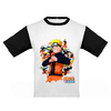 REMERA NIÑO - NARUTO DRAGON BALL Z - TALLE 4, 6 Y 8