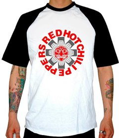 REMERA COMBINADA RED HOT CHILI PEPPERS (NUEVA)