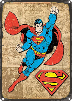CHAPA VINTAGE: SUPERMAN - MARVEL