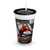 VASO PELÍCULA OFICIAL SPIDERMAN - MARVEL