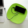 ORGANIZADOR DE CABLES ZEN BOWL - COLOR VERDE