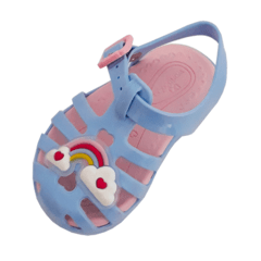 Sandália Infantil Lilly Baby World Colors 075006 na internet