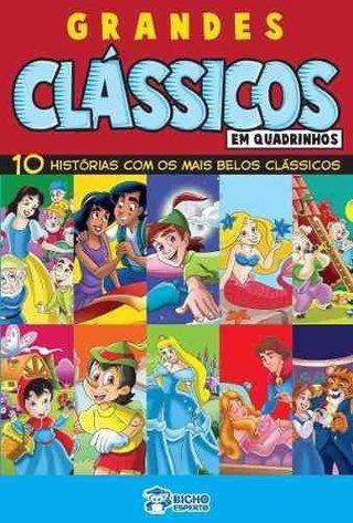 Grandes Clássicos Em Quadrinhos: 10 Hist...
