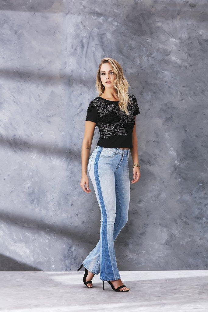 a91155fd3 Calça Jeans Osmoze Boot Cut Azul
