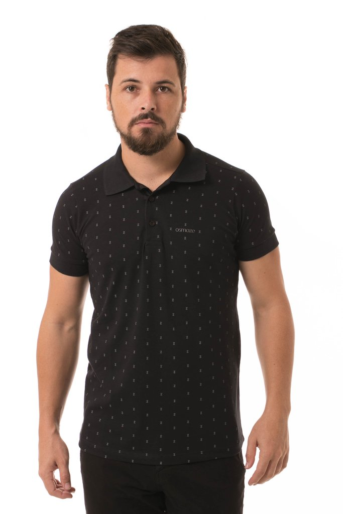 Polo Osmoze Estampada