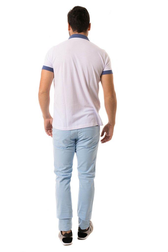 ce225ee069 ... Camisa Pólo Osmoze Duas Cores Branca - Osmoze Jeans Store