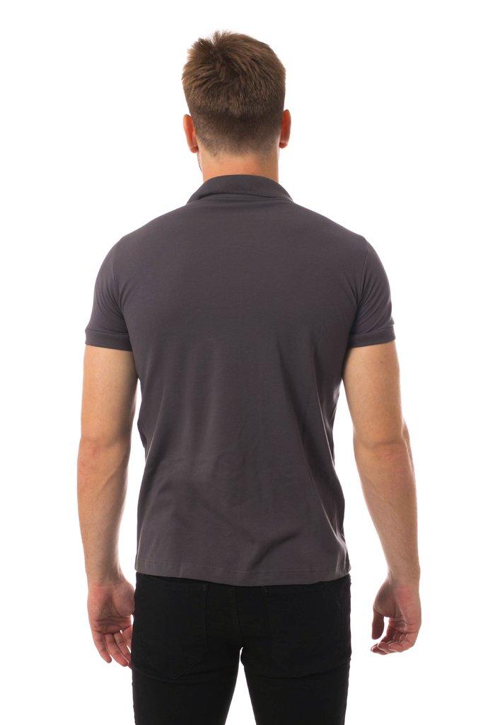 8941b75b2d ... Camisa Pólo Osmoze Basica Chumbo - Osmoze Jeans Store