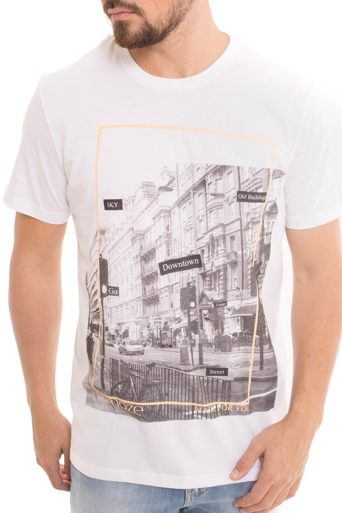Camiseta Osmoze Downtown Branca