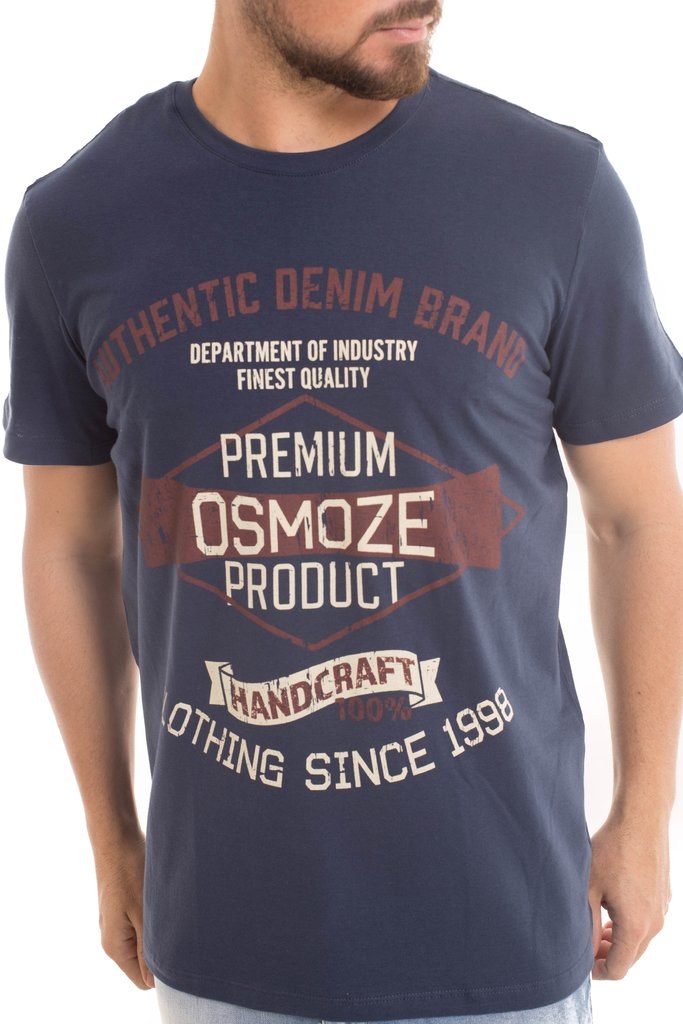 Camiseta Osmoze Authentic Marinho