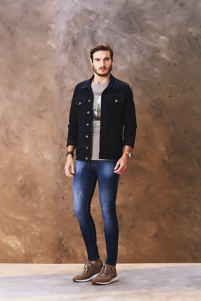 956f770fb2 Calça Jeans Osmoze Skinny Azul