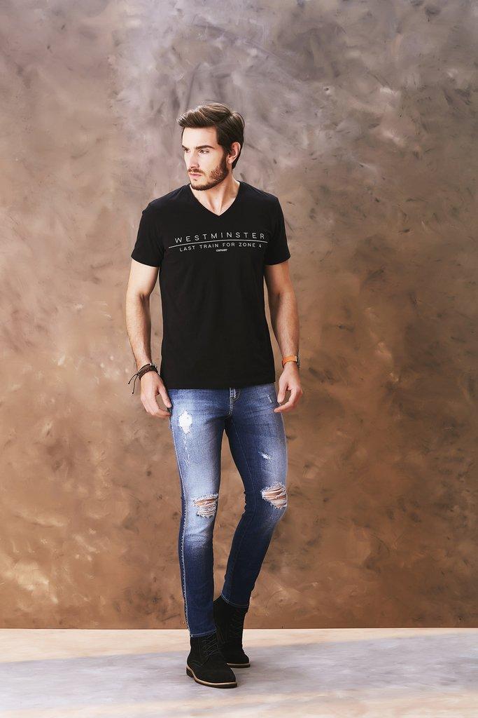 10e8329a3 Calça Jeans Osmoze Skinny Azul 101124069-00001