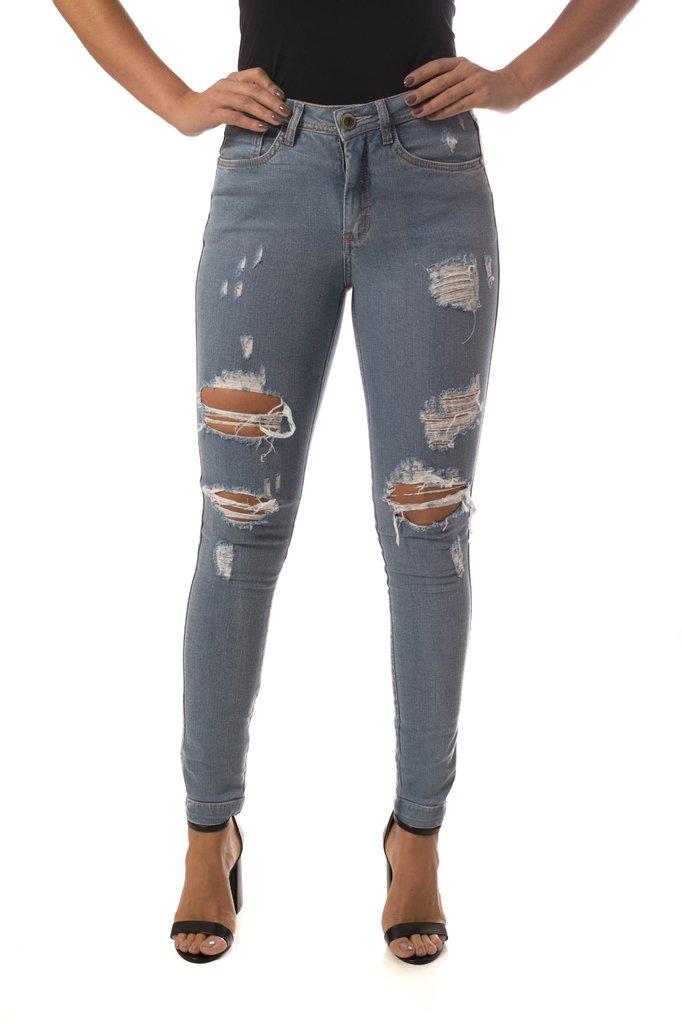 ac8dddb27 ... Calça Jeans Osmoze Mid Rise Skinny Azul - comprar online ...
