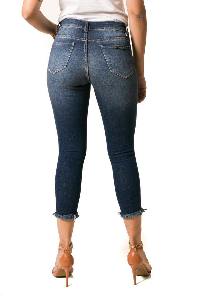 41fb70c01 Calça Jeans Osmoze Skinny Cropped Azul - Osmoze Jeans Store ...