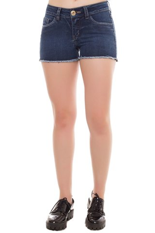 Shorts Jeans Angie Osmoze Azul - comprar online