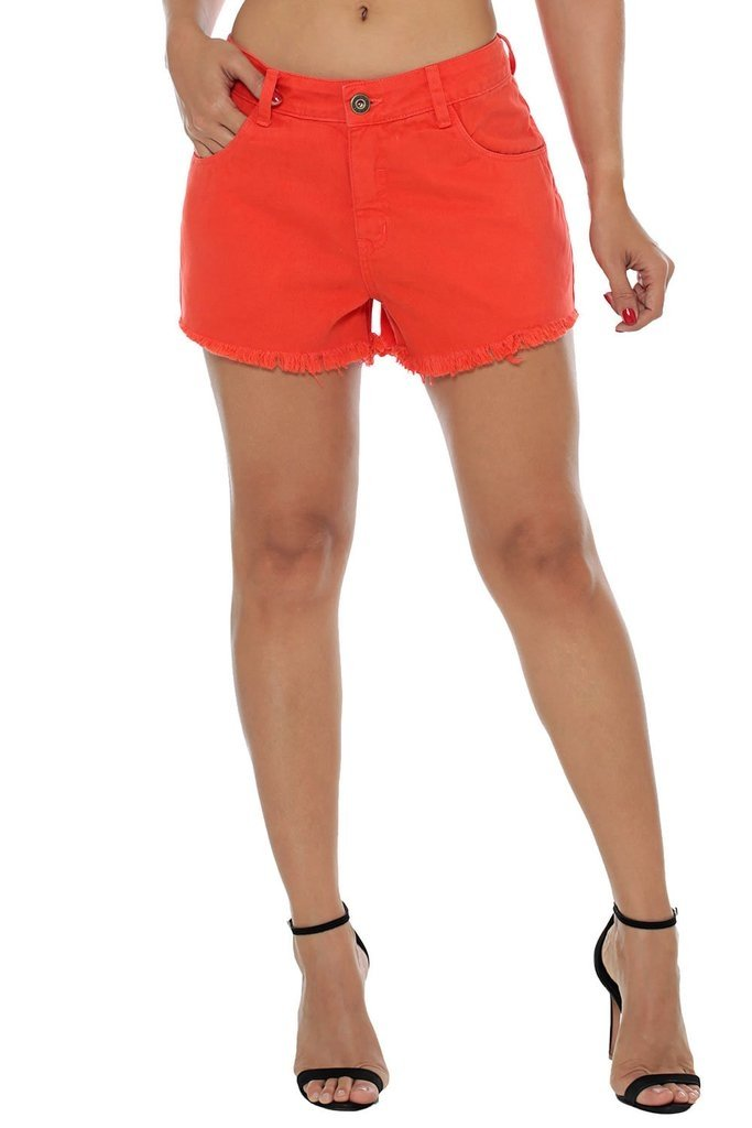 Shorts Osmoze Mid Drop Laranja