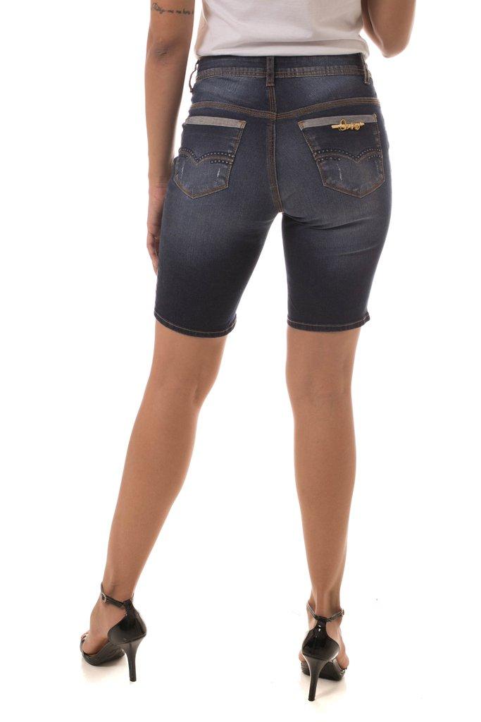 20b3fd713 ... Shorts Jeans Osmoze Mid Rise Middle Azul - Osmoze Jeans Store