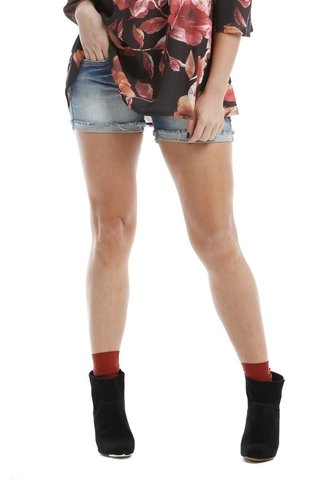Shorts Osmoze Angie Plus Azul