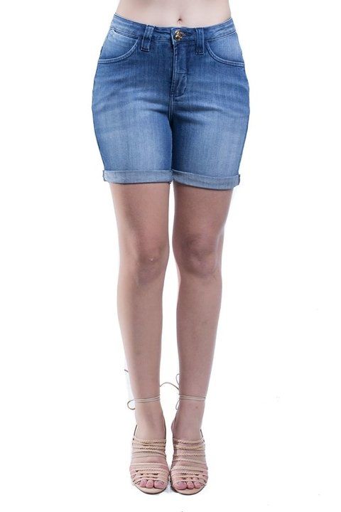 Shorts Jeans Jeans Osmoze Mid Rise Middle Cor Única