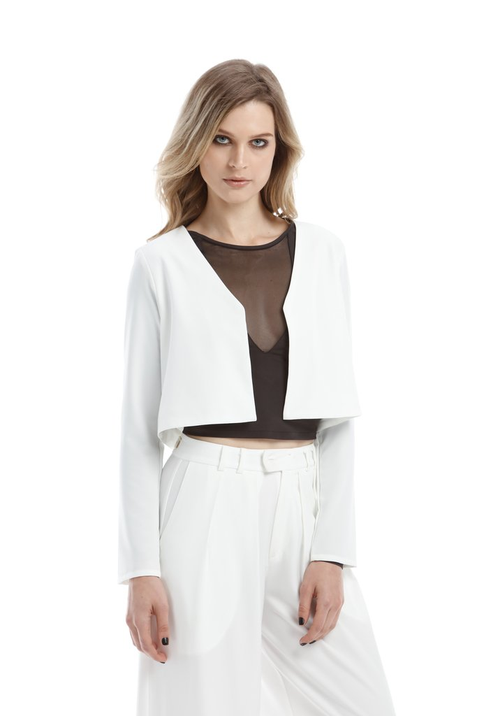 Blusa Cropped Osmoze Off White