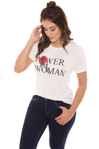 T-Shirt Daniela Cristina Power Woman na internet