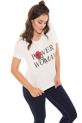 T-Shirt Daniela Cristina Power Woman