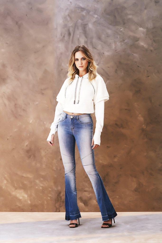 6332e350c6 Calça Jeans Osmoze Boot Cut Azul