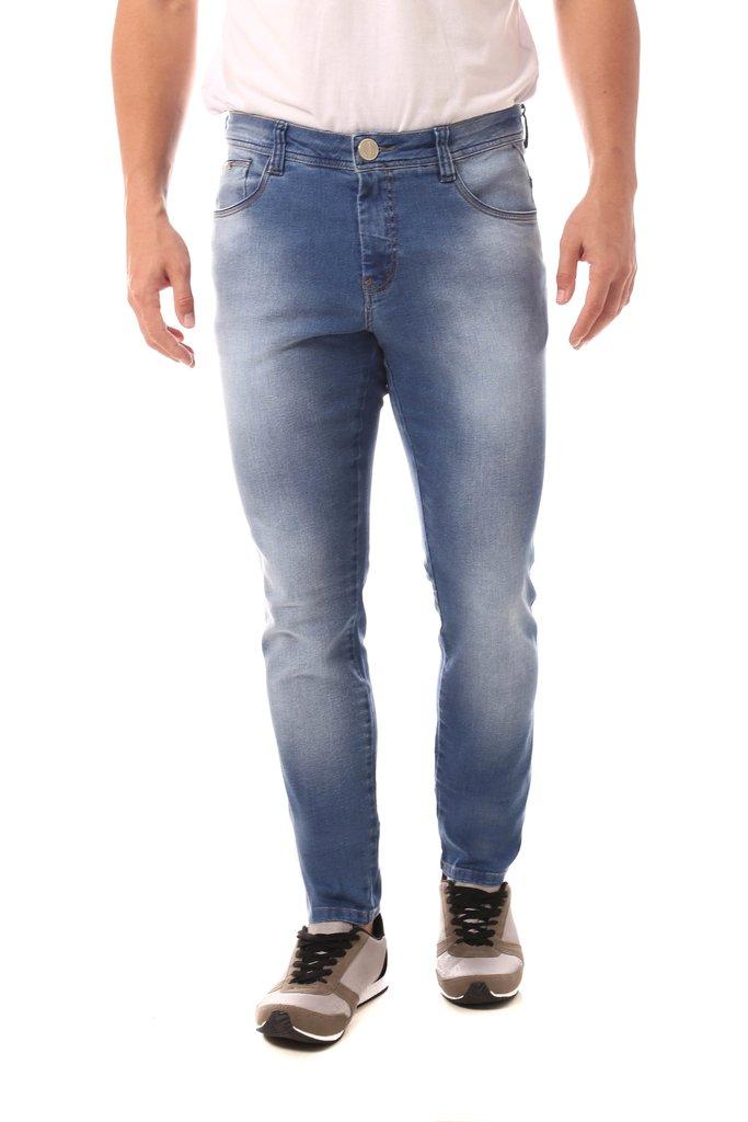 31ef21b5e Calça Jeans Denuncia Skinny Azul Calça Jeans Denuncia Skinny Azul - comprar  online ...