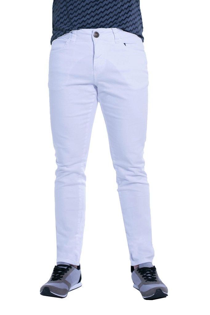 03cbce1343 Calça Jeans Denuncia Skinny Branca 101324053-00002