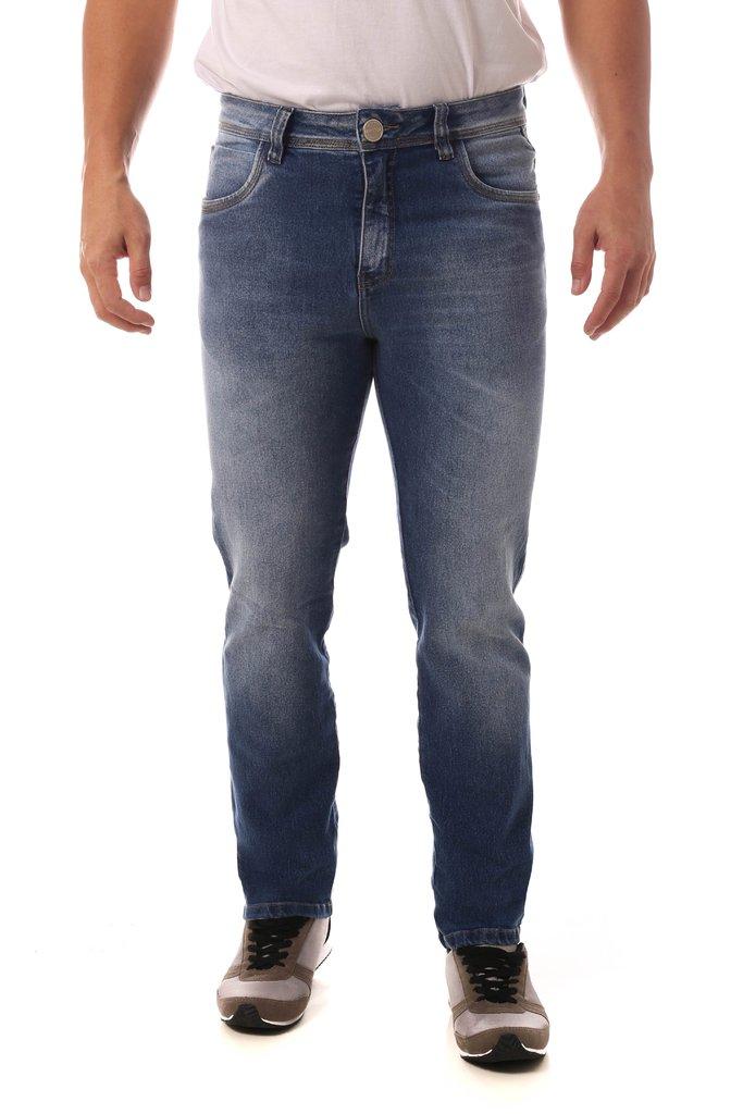 47d4eeac7 Calça Jeans Denuncia Slim Fit Azul Calça Jeans Denuncia Slim Fit Azul - comprar  online ...