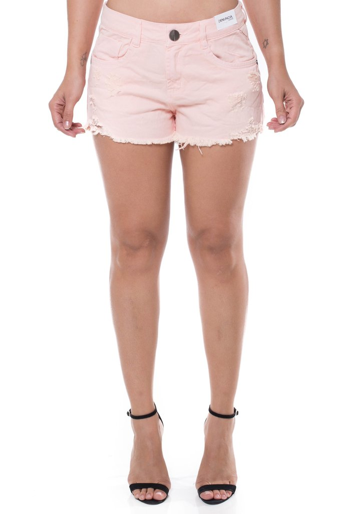Shorts Jeans Denuncia Ease Rose