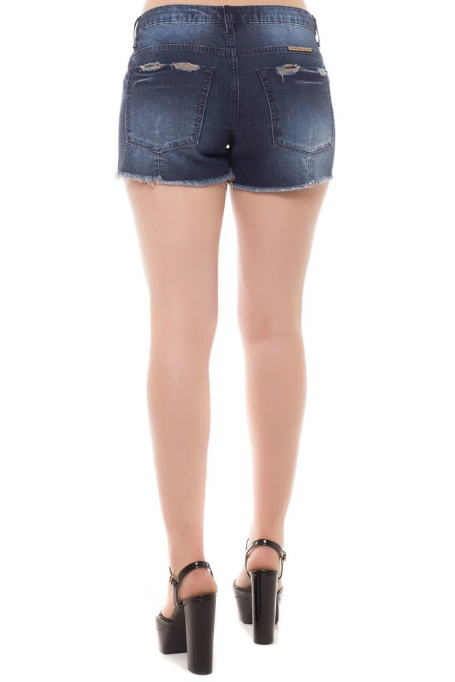 Shorts Jeans Ease Denúncia Azul - Denuncia Jeans Store