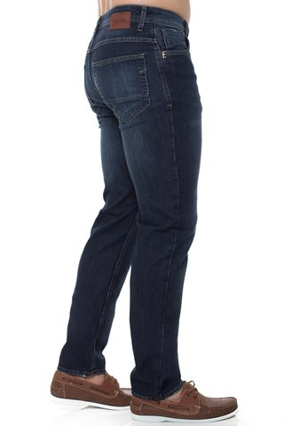Calça Jeans Slim Fit Eventual Azul na internet