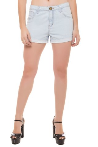 Shorts Jeans Mid Drop Eventual Azul