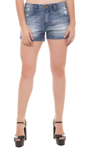 Shorts Jeans Ease Eventual Azul