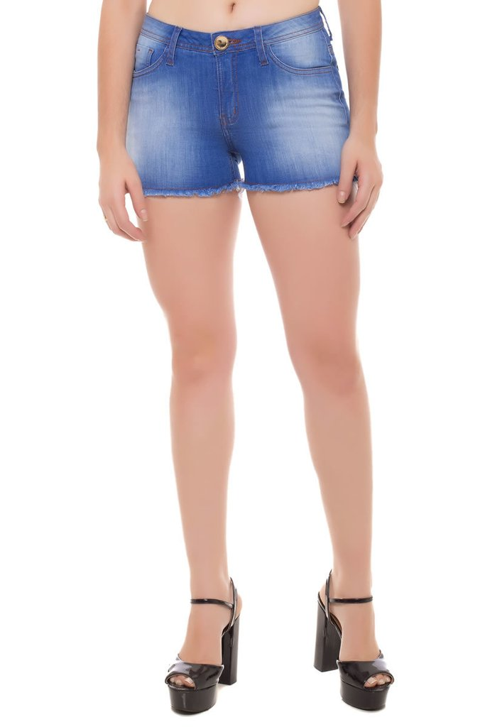 Shorts Jeans Angie Eventual Azul